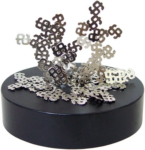 Magnetic Desktop Sculpture - Dollar Signs