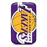 Quality GRleal Case Cover With Los Angeles Lakers Nice Appearance Compatible With Galaxy S3