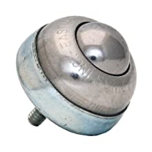 1 Stud Type Ball transfer unit SBT-1 SS 1/4 inch Threaded Stem USA