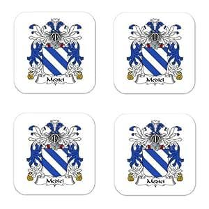 Amazon.com - Medici Family Crest Square Coasters Coat of Arms Coasters