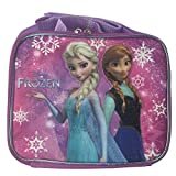 Disney Frozen Princess Elsa and Anna Lunch Bag-snowflakes