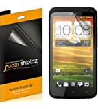 [6-Pack] SUPERSHIELDZ- High Definition Clear Screen Protector Shield For HTC One X & One X+ With Lifetime Replacements Warranty [6 Pack] - Retail Packaging