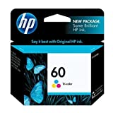 HP 60 Tri-Color Clam Pack Ink