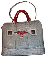 Women's Guess Purse Handbag Lina Natural Multi