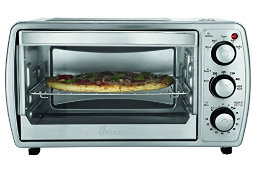 Oster Countertop Oven Tssttvcg02 : Oster TSSTTVCG02 Oster 6 Slice Convection Toaster Oven with Integrated ...