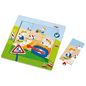 Haba Magnetic Puzzle Construction Site