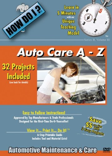How Do I Auto Car A-Z: DVD