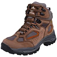 Vasque Men's Breeze GTX Hiking Boot,Taupe/Burnt Orange,7 M US by Vasque