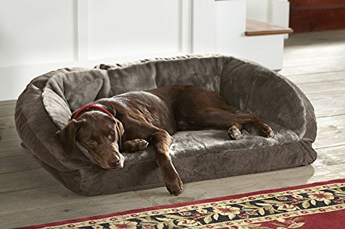 orvis faux fur deep dish dog bed with memory foam x large With multiple dog bed