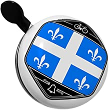 Bicycle Bell Quebec Flag region Canada by NEONBLOND