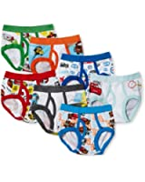 Disney Little Boys' Cars 7-Pack Brief