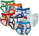 Handcraft Boys 2-7 Toddler Disney Cars 7 Pack Brief, Multi, 2T/3T