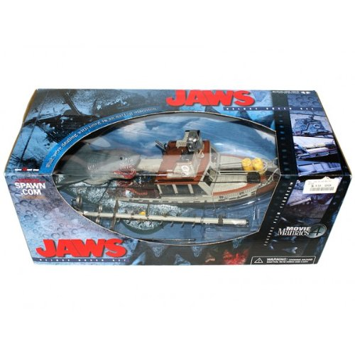 Shark Toy Box : Movie maniacs jaws box set