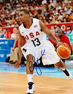 Chris Paul Autographed Hand Signed TEAM USA 8x10 Photo - Los Angeles Clippers CP3 by Real Deal Memorabilia