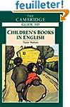 The Cambridge Guide to Children's Boo...