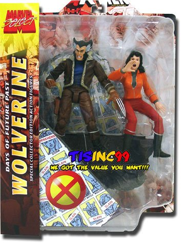 Buy Low Price Diamond Select Marvel Select Action Figure Wolverine with Kitty Pryde Days of Future Past (B001SUZMSQ)