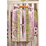 My Baby Sam Sweet Pea Diaper Stacker, Lavender