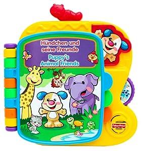 Mattel Fisher-Price V5712 - Lernspaß Hündchen und seine Freunde Buch