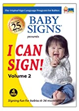 Baby Signs I Can Sign! DVD Set Volume 2