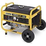 Powerplus 2200w 6.5HP 196cc Petrol Generator 230v POWX510