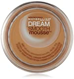 Maybelline New York Dream Smooth Mousse Foundation, Natural Beige, 0.49 Ounce, 2 pack