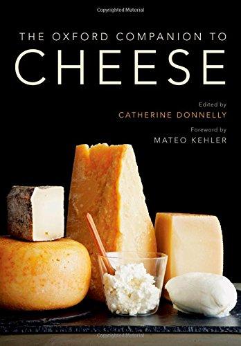 The Oxford Companion to Cheese (Oxford Companions) cover