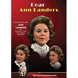 David Susskind: Dear Ann Landers