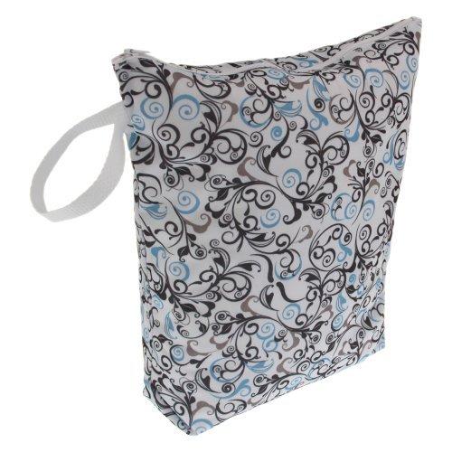 Swaddlebees Diaper Wet Bags, Swirls Color: Swirls Nourrisson, bébé, enfant
