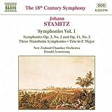 J. シュターミッツ:交響曲集 - 1