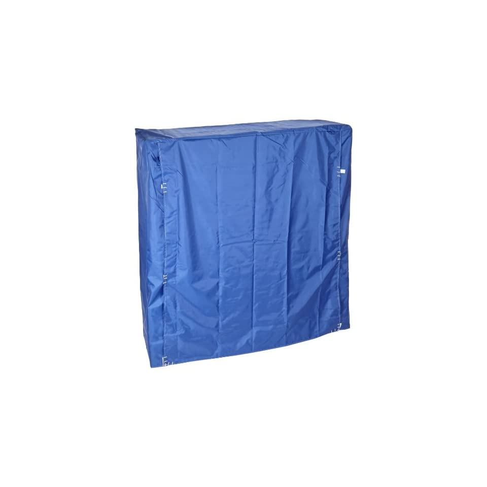 Quantum Storage Systems CC243663BNV Wire Cart Cover with Velcro Flap, 400 Denier Nylon, Blue, 24 Width x 36 Length x 63 Height