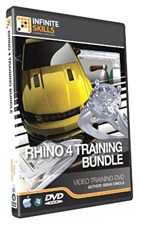Discounted Bundle - Rhino 4 Tutorial DVD - Over 17 hours of Training
