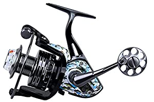 Tokushima Spinning Reel Transparent Skylight Ocean Fish School Design Metal Body Parallel Winding Patent Saltwater and Ffresh Water 15+3BB Fishing Reels1000 2000 3000 4000 5000 6000 Series