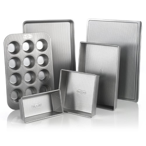 USA Pans 6-Piece Bakeware Set USA Pans B008FK6GQY