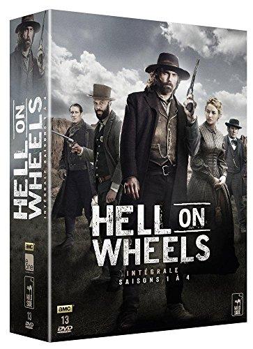 Coffret hell on wheels, saison 1 à 4 [Edizione: Francia]