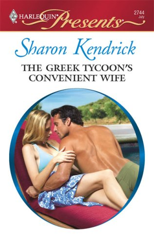Image for The Greek Tycoon's Convenient Wife (Harlequin Presents # 2722)