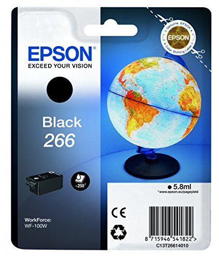 Epson Inkcartridge, Ink WorkForce WF-100W, schwarz