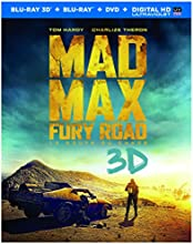Mad Max: Fury Road [Blu-ray 3D + Blu-ray + DVD + Digital Copy] (Bilingual)