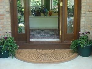 round in laid doormat 30 x 48 door mats patio lawn am