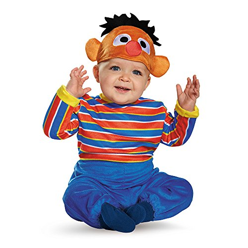Disguise Baby Boys' Ernie Deluxe Infant Costume