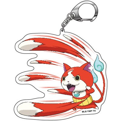 "Yokai Watch ""Shoot Hitting Jiba Nhan"" Key Holder"