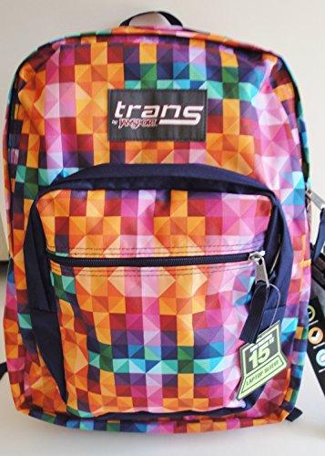 Trans-by-Jansport-Supermax-Multi-Spectrum-Multi-Color-Backpack