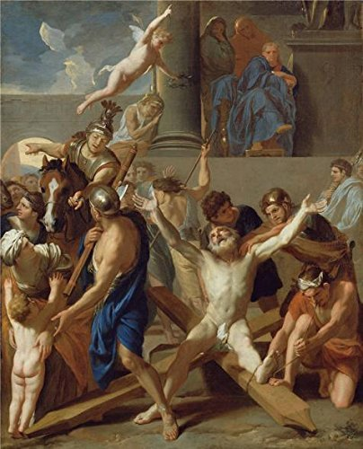 the-martyrdom-of-st-andrew1647-by-charles-le-brun-oil-painting-30x37-inch-76x94-cm-printed-on-perfec