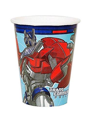 Transformers 'Prime' 9oz Paper Cups (8ct)