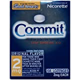 Commit Lozenges, 2 mg, 108-Count Box (Original Flavor)