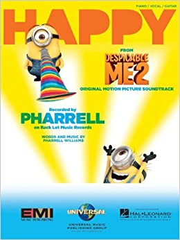 pharrell williams happy sheet music single from