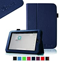 FINTIE Slim Fit Folio Case for Barnes & Noble Nook HD 7 Tablet (Support Auto Sleep/Wake Function) - Navy from FINTIE