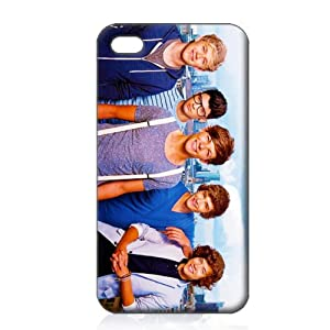 One Direction Hard Case Cover Skin for Iphone 4 4s Iphone4 At&t Sprint Verizon Retail Packing from Shippingtime:7-14days
