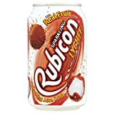 Rubicon Sparkling Juice Drink Lychee 24x330ml