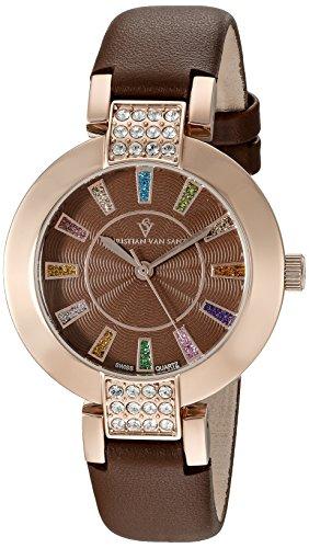 christian-van-sant-celine-casual-de-acero-inoxidable-reloj-de-cuarzo-suizo-de-la-mujer-modelo-cv0444