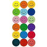 180 Bunte Smiley Face Stickers ø 2cm - Lächlen - Freude - Belohnung hergestellt von Oblique-Unique